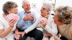 Anziani in compagnia