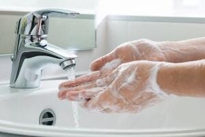 l'igiene delle mani