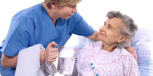 igiene orale paziente
