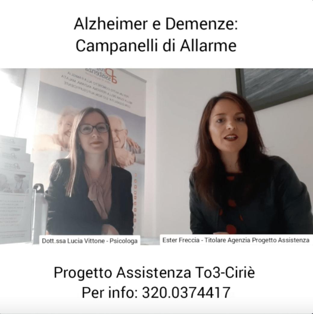 Alzheimer e Demenze: 5 Campanelli di Allarme