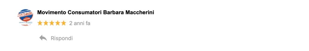 Recensione Barbara Maccherini