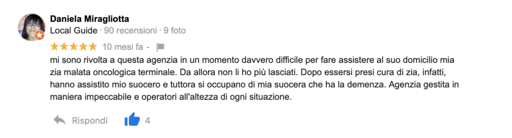 Recensione Daniela Miragliotta
