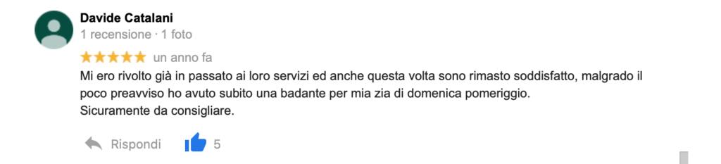 Recensione Davide Catalani