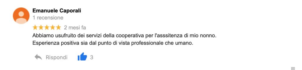 Recensione Emanuele Caporali