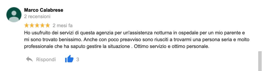 Recensione Marco Calabrese