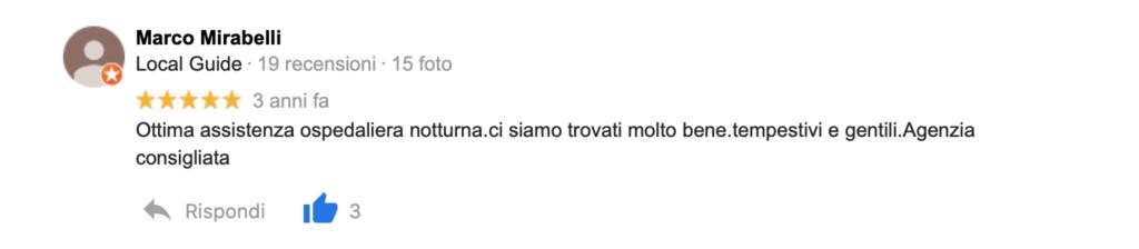 Recensione Marco Mirabelli