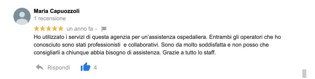 Recensione Maria Capuozzoli