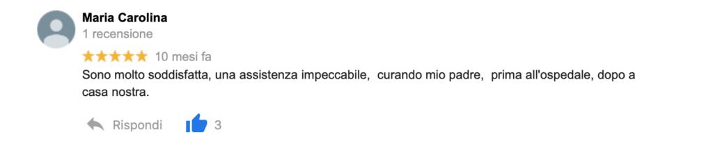 Recensione Maria Carolina