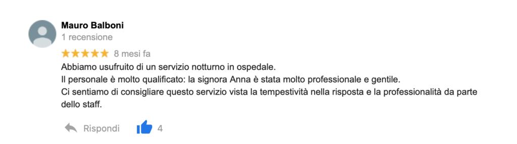 Recensione Mauro Balboni
