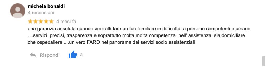 Recensione Michela Bonaldi