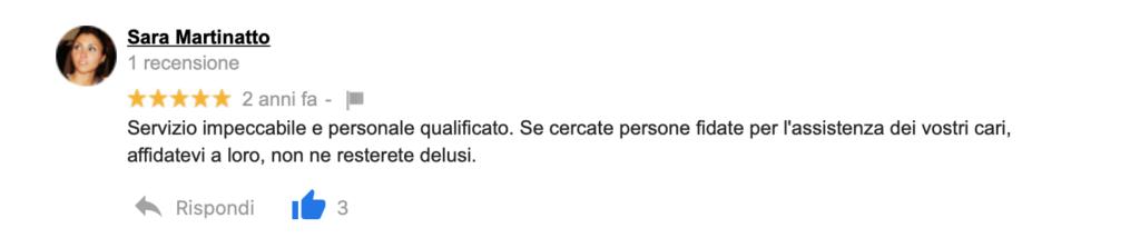Recensione Sara Martinatto