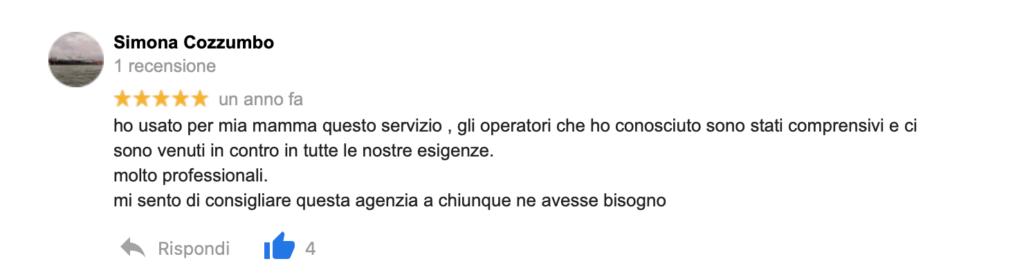 Recensione Simona Cozzumbo