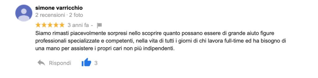 Recensione Simone Varricchio
