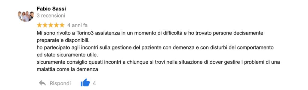 Recensione Fabio Sassi