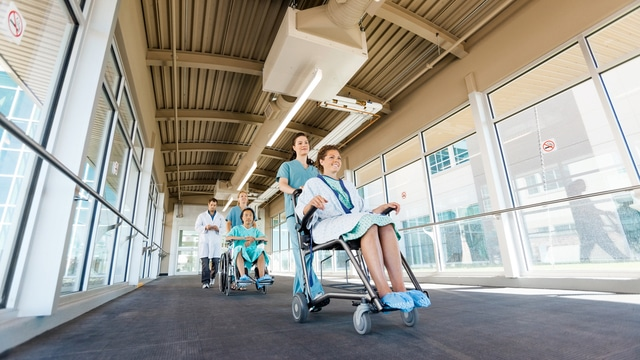 Assistenza ospedale Molinette