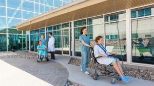 Assistenza ospedale San Luigi